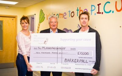 Barker-Mill Donate £10,000
