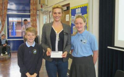 Sarah Parish goes 'Back to School'