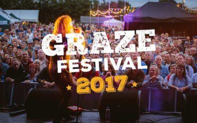 Graze Festival 2017 supporting #2MillionSteps