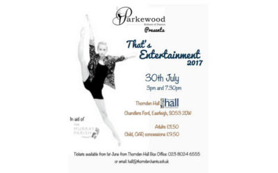 Parkewood nominate The Murray Parish Trust – That's Entertainment!