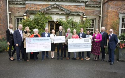 Winchester Portrait Exhibition raises over £10k for local charities.
