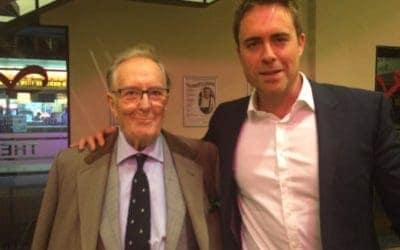 Farewell to a dear friend – Robert Hardy CBE