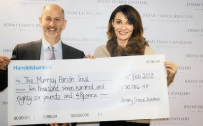 Jeremy France Jewellers smash Fundraising target for #2MillionSteps