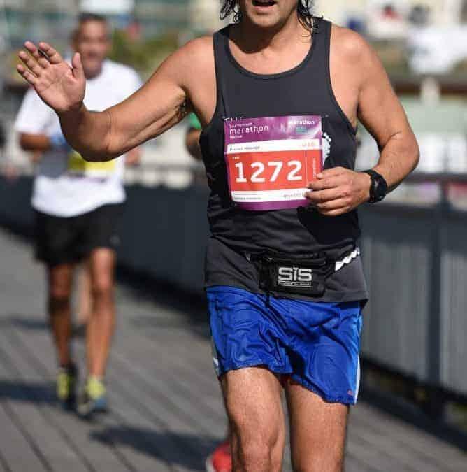 Darius & friends raise over £6,000 at Bournemouth Marathon Festival.
