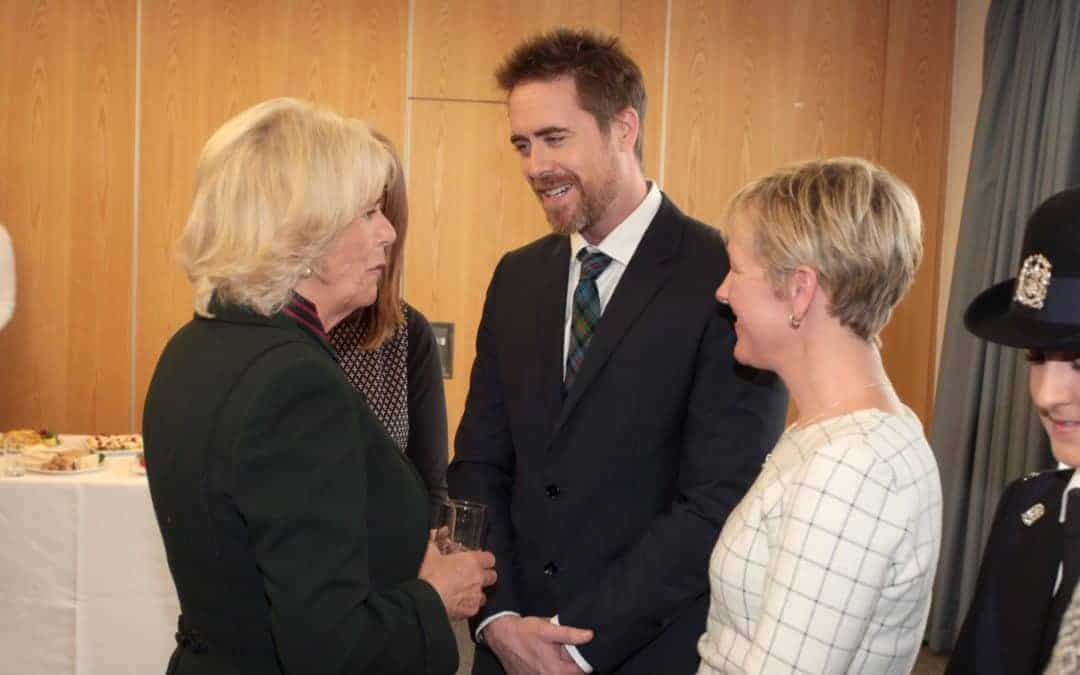 Duchess of Cornwall opens Piam Brown at Southampton Hospital.