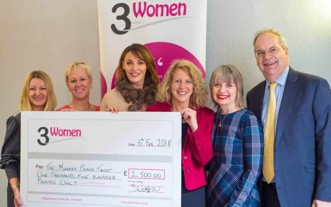 3Women Winter Sparkler raises £1500!
