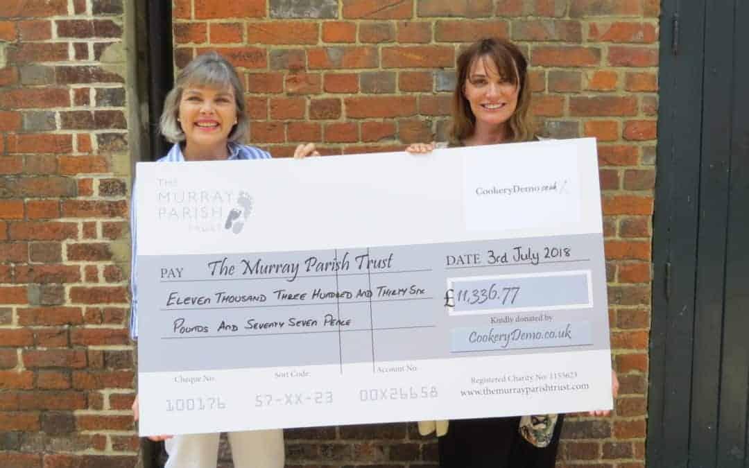 Charity Chefs Challenge raises over £11k for #2MillionSteps