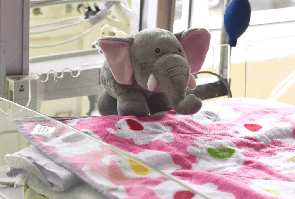 £10k target reached for specialist paediatric intensive care bed.