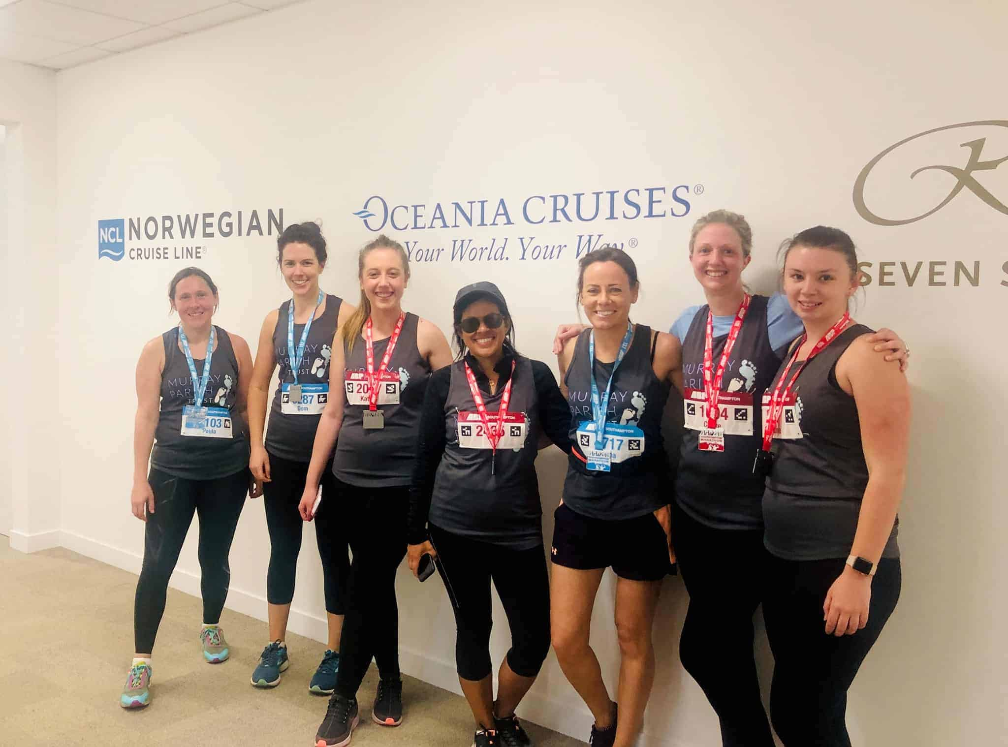 Team NCLH Southampton Marathon 2019