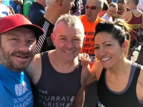 Ady Cobb Southampton Marathon 2019 Finish