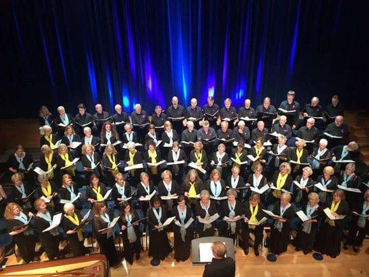 Alresford Community Choir's Autumn Songbook raised £1600
