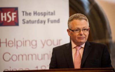 Hospital Saturday Fund donates £2,000 to iMRI Suite Appeal