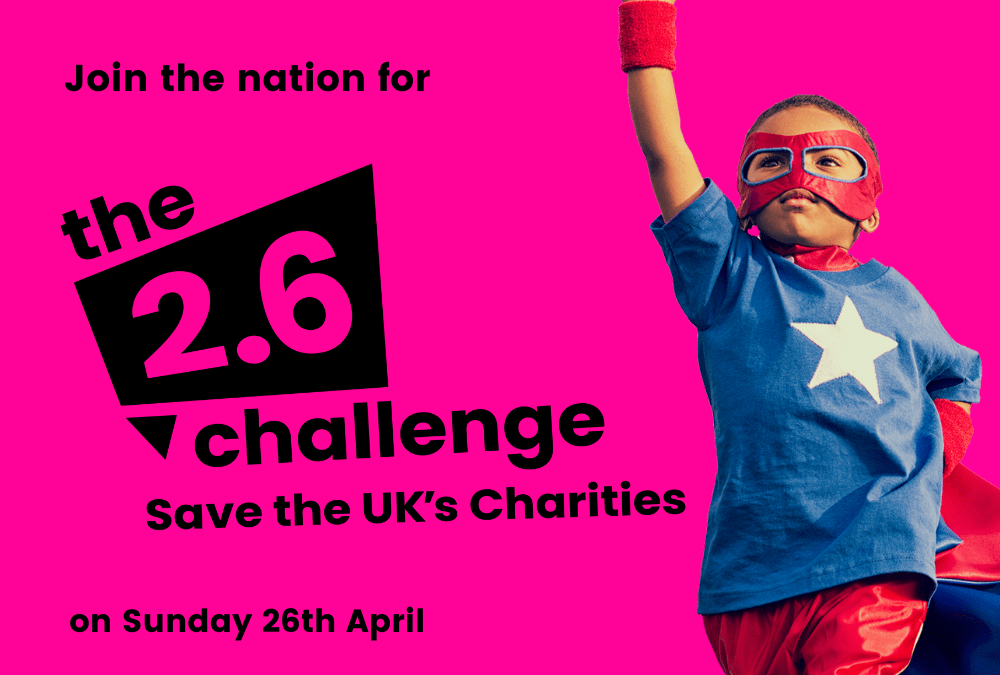 Take on the 2.6 challenge for The Murray Parish Trust