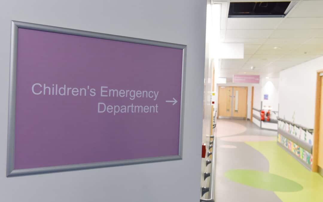 UPDATE: Children's Emergency & Trauma Department.