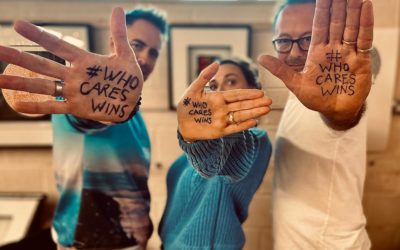 Who Cares Wins – Nic Joly's latest artwork 'We Can Be Heroes'
