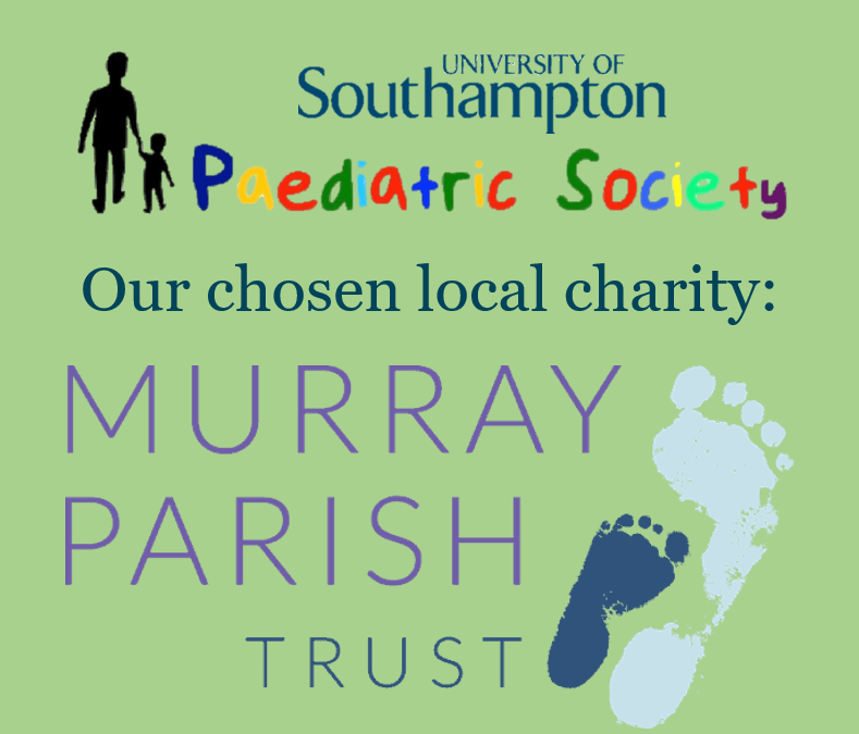 Southampton University Paediatric Society – Charity of the Year