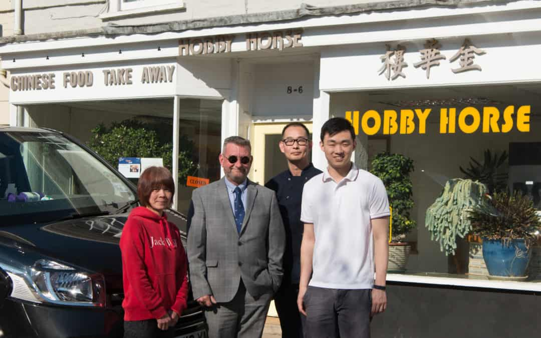 Alresford Takeaway Team tops £2k for The Murray Parish Trust