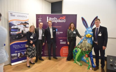 Williams Shipping 'hop on board' as Hares of Hampshire Logistics Partner